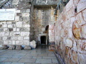 Birth place of Lord Jesus in Bethlehem (Church of Nativity)