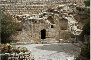 Empty Tomb (Tomb where Jesus is risen from)