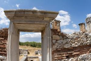 Entrance to Philippi