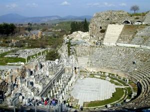 Ephesus theater (Acts 19:23-41)