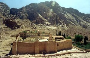 Mount Sinai (place where Moses received Ten Commandments)
